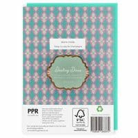Darling Diva's Today is a Day For Champagne Blank Greeting Card